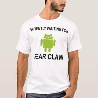 Camiseta Garra de urso Droid