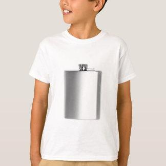 Camiseta Garrafa anca de aço inoxidável