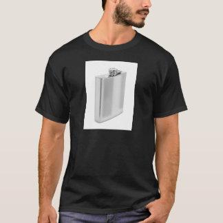 Camiseta Garrafa anca de prata