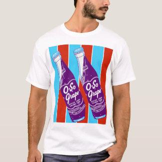 Camiseta Garrafa de soda retro das bebidas de Ktsch do