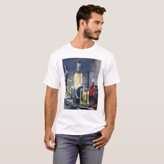 Camiseta Garrafas do vinagre para saladas