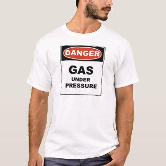 Camiseta Gás do perigo sob a pressão