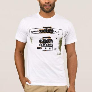 Camiseta Gás retro livre