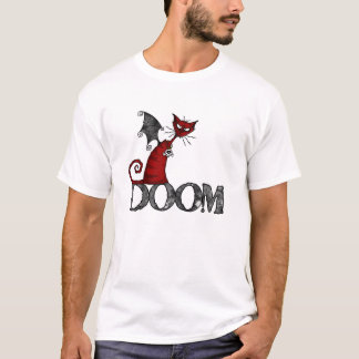 Camiseta gatinho da desgraça