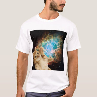 Camiseta Gatinho da nebulosa
