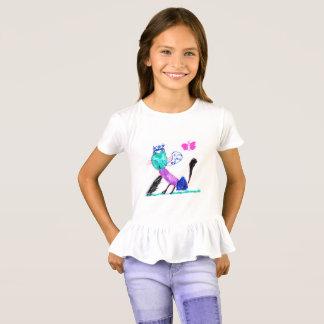 Camiseta Gatinho da princesa