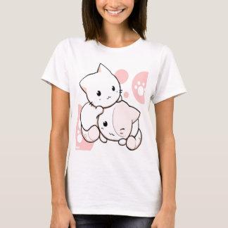 Camiseta Gatinho de Kawaii