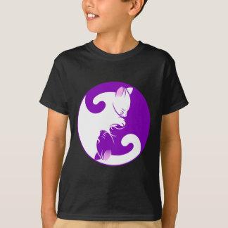 Camiseta Gatinho de Yin Yang