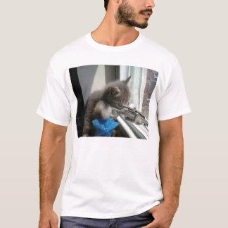 Camiseta Gatinho do atirador furtivo