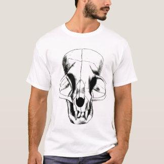 Camiseta gatinho do crânio pelo harvey do erin