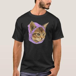 Camiseta Gatinho do hipster