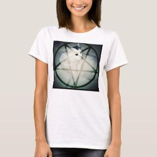 Camiseta gatinho satânico