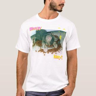 Camiseta Gatinho sonolento