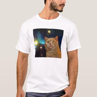 Camiseta Gatinho surpreendido do espaço