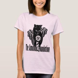 Camiseta Gatinho voado de Amanda