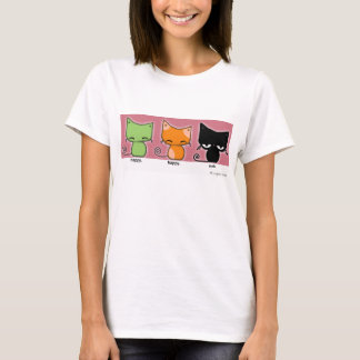 Camiseta gatinhos de happy.happy.meh - versão 2!