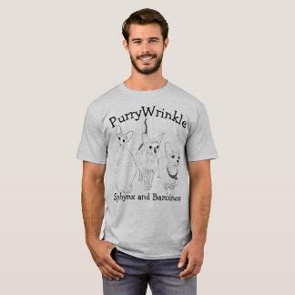 Camiseta Gatinhos de PurryWrinkle Sphynx e de bebê
