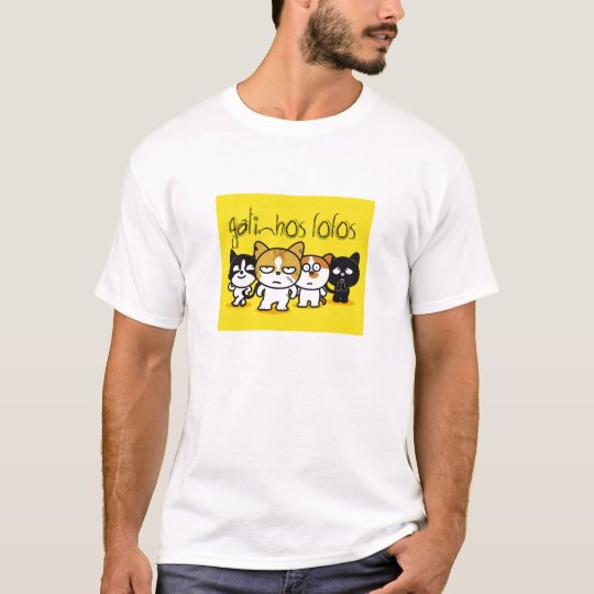 Camiseta Gatinhos Fofos