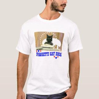 Camiseta Gato 2008 dos espaguetes!