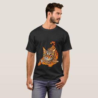 Camiseta Gato alaranjado