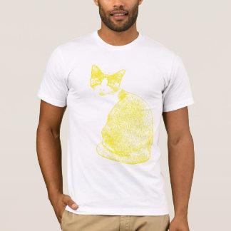 Camiseta Gato amarelo