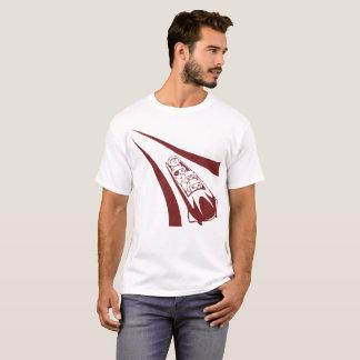 Camiseta Gato aventura-se o t-shirt