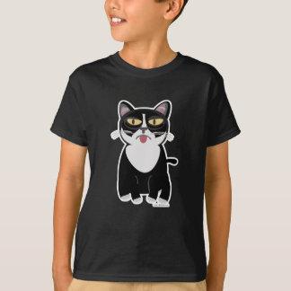 Camiseta Gato bonito dos desenhos animados de Sourpuss