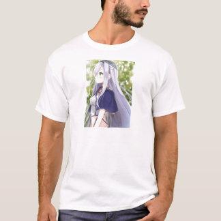 Camiseta Gato branco de Shiro Neko aka