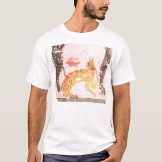 Camiseta gato com colar