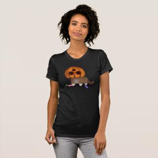 Camiseta Gato da abóbora