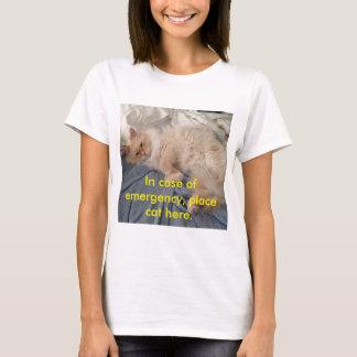 Camiseta Gato da emergência