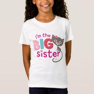Camiseta Gato da irmã mais velha