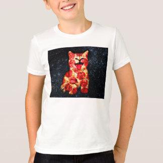 Camiseta gato da pizza - gatinho - gatinho
