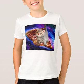 Camiseta gato da pizza - gatos bonitos - gatinho - gatinhos