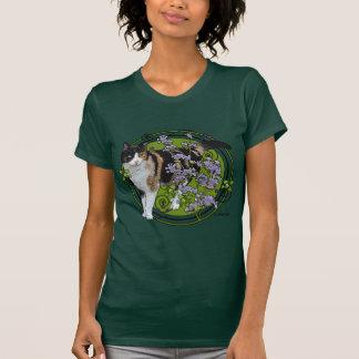 Camiseta Gato de chita com Nepeta