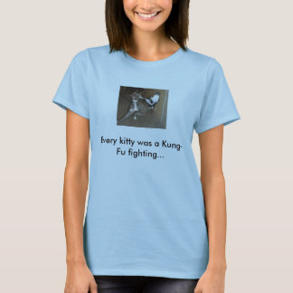 Camiseta Gato de Kung Fu