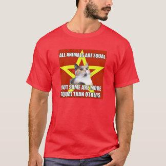 Camiseta Gato de Lenin