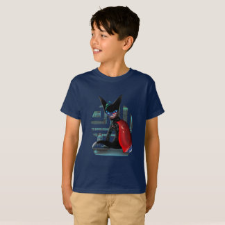 Camiseta Gato de Ninja do Cyberpunk