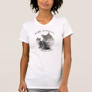 Camiseta Gato de racum de maine do pURR-fection