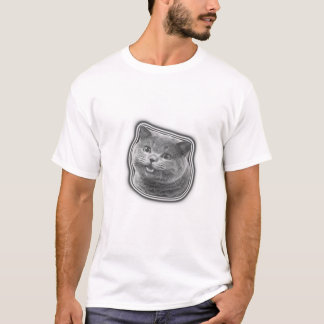 Camiseta Gato de sorriso