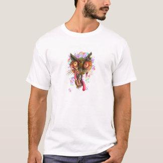 Camiseta Gato do ácido do zombi