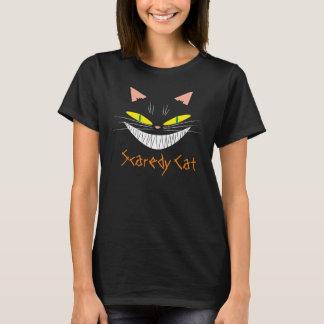 Camiseta Gato do Dia das Bruxas