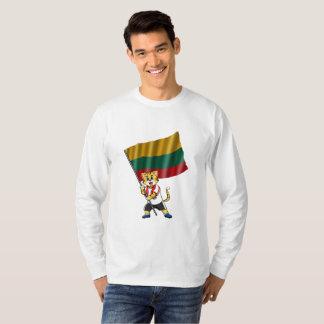 Camiseta Gato do fã de Lithuania