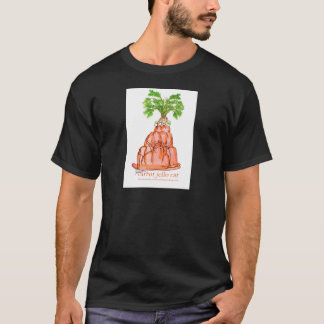 Camiseta gato do jello da cenoura dos fernandes tony