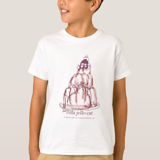 Camiseta gato do jello da cola dos fernandes tony