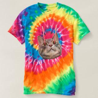 Camiseta Gato do laser