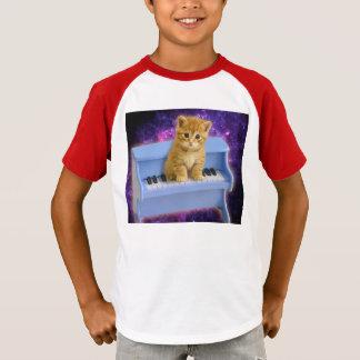Camiseta Gato do piano