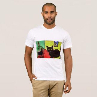 Camiseta gato do t-shirt do animal de estimação do arthouse