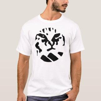 Camiseta Gato do teclado - círculo - T
