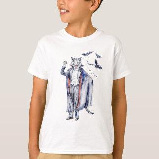 Camiseta Gato do vampiro de Catula da contagem